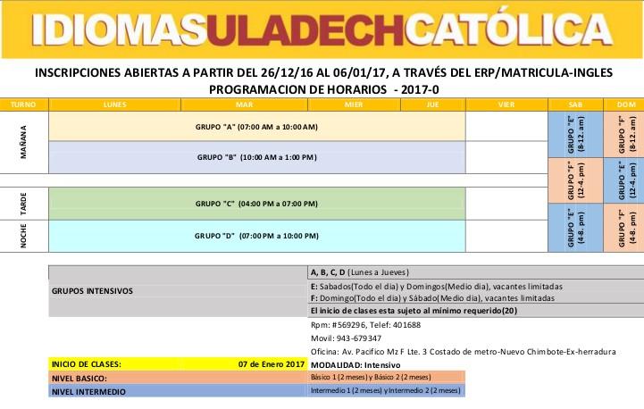 horario-idiomas-uladech